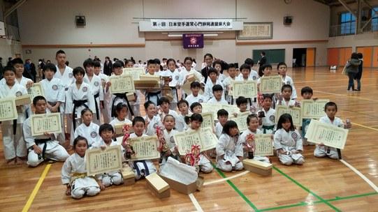 多くの生徒が入賞しました。